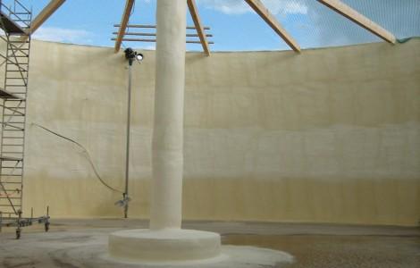 Isolierung von Biogasanlagen
